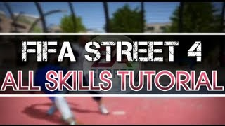 FIFA Street I All Skills Tutorial (Xbox 360 & PS3)