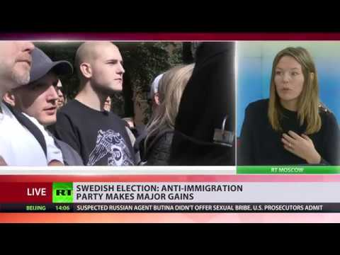 Anti-immigration party makes major gains in Swedish election