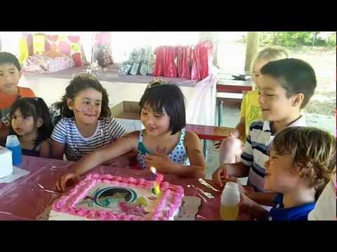 Gianna's Happy Birthday Cha Cha Cha!!!