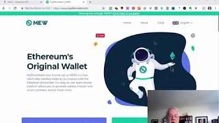MyEtherWallet (MEW) Part1 Create a New Wallet