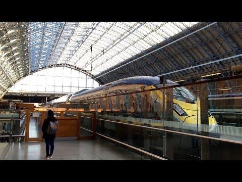 London to Paris on the new Eurostar e320 [4K]