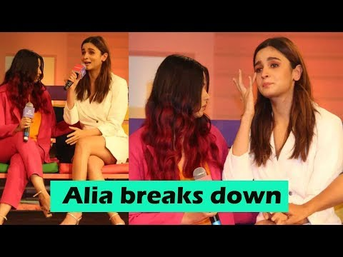 Alia Bhatt breaks down in tears while talking about sister Shaheen Bhatt's battle with depression Mp3