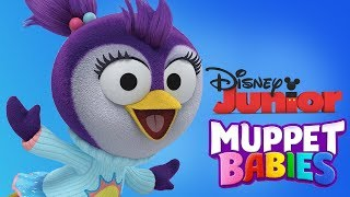 Muppet Babies   Summer Penguin Fun Puzzles, Mini Games For Children   Disney Junior App For Kids