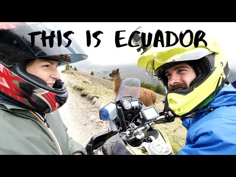 You WON'T BELIEVE This Is ECUADOR! Riders Daily Life