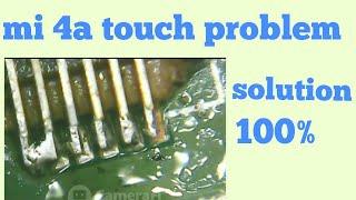 Mi 4a touch problem solution // Raju rai mobile repair
