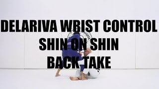 DELARIVA WRIST CONTROL SHIN ON SHIN BACK TAKE