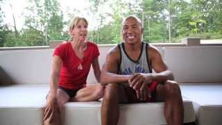 Hines Ward BECOME ONE Outtakes: Hines and Paula Shoot the Breeze