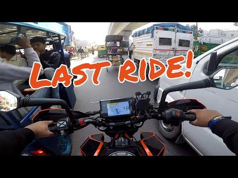 Bye! Bye! KTM Duke !!😭