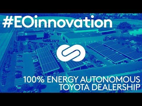 #EOinnovation - Energy Observer meets the first 100% energy autonomous toyota dearlership