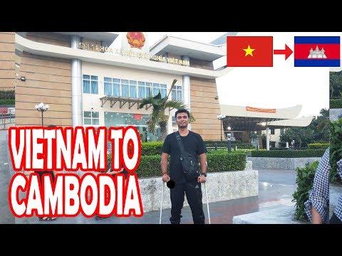 VIETNAM TO CAMBODIA BY BUS (MOC BAI - BAVET LAND BORDER CROSSING)