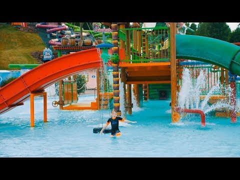 Water Playground Fun for Kids at Skara Sommarland