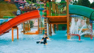 Water Playground Fun for Kids at Skara Sommarland