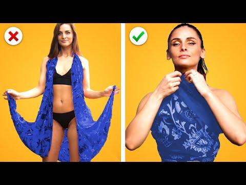 11 Easy Fashion Hacks for Party Fashionista! DIY Clothing Ideas and Organization Life Hacks