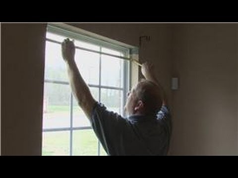 Home Improvement & Maintenance : Measuring A Replacement Window