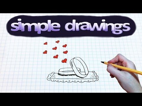 simple-drawings-#68-how-to-draw-wedding-rings