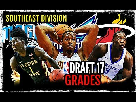 2017 NBA Draft Grades: Southeast Division: Dwight Howard * Jonathan Isaac * Bam Adebayo