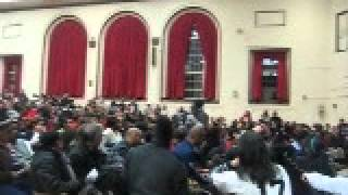 Student speaks out against closing Dewitt Clinton High School in the Bronx