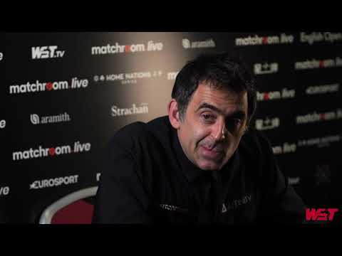 O'Sullivan Paints Finger Nails For Matchroom.Live English Open!