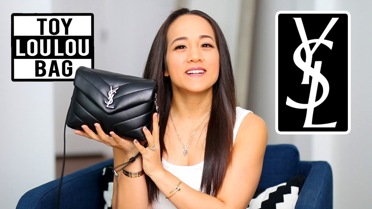 8c3fd87bb10 SAINT LAURENT LOULOU HANDBAG REVIEW | WHAT'S IN MY BAG + Wear and Tear | YSL