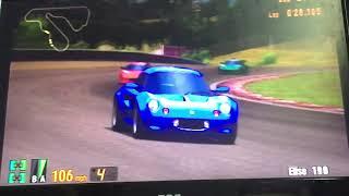 Gran Turismo 3 Elise 190, The Lotus Elise Sonic Heroes Racing's 3/9 ⭐️ 🏁