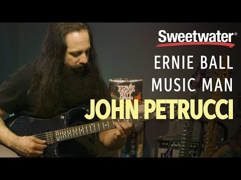 John Petrucci Gives In-depth Overview of his Signature Line of Ernie Ball Music Man Guitars