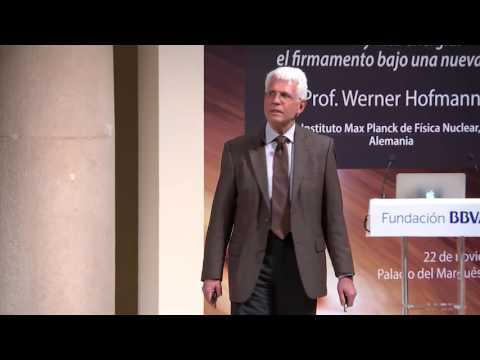 Lecture by Werner Hofmann from Max Planck Institute for Nuclear Physics, Germany