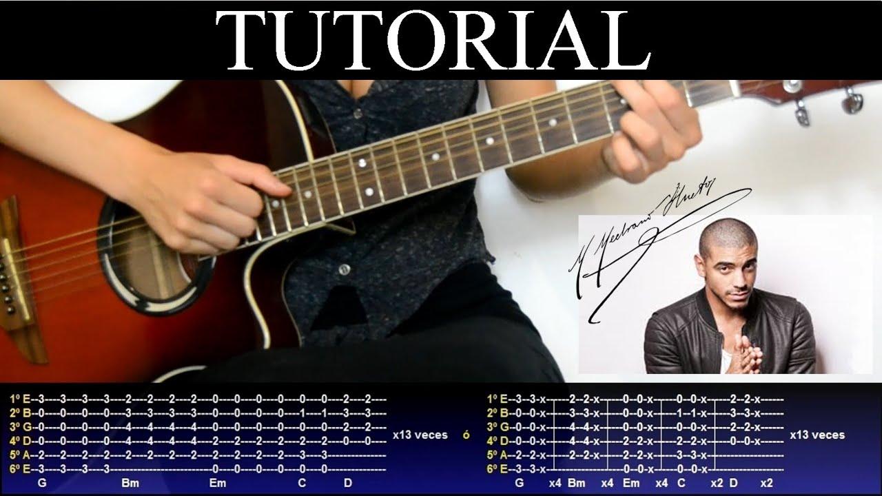 Cómo tocar Quédate de Manuel Medrano (Tutorial de Guitarra) / How to play
