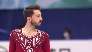 Кевин Эймоз Короткая программа Мужчины Командный чемпионат мира по фигурному катанию 2021