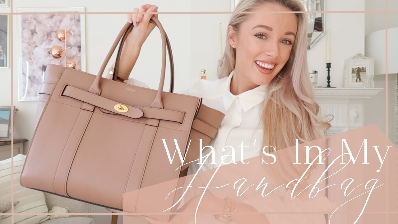 2823adfab12a WHAT S IN MY HANDBAG    Mulberry Zipped Bayswater Review    Fashion Mumblr