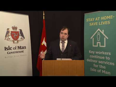 Isle of Man Government Coronavirus Media Briefing - Part One Thursday 16th April 2020