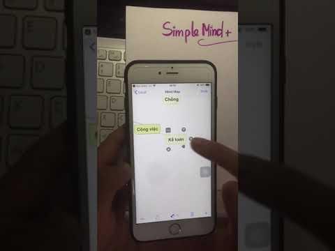 [Góc chia sẻ] Cách vẽ sơ đồ tư duy Mindmap trên điện thoại bằng ứng dụng SimpleMind+
