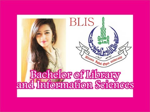 Allama Iqbal Open University, AIOU BLIS, Bachelor of Library and Information Sciences