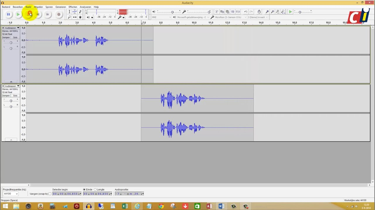 audacity how to make audio more crisp