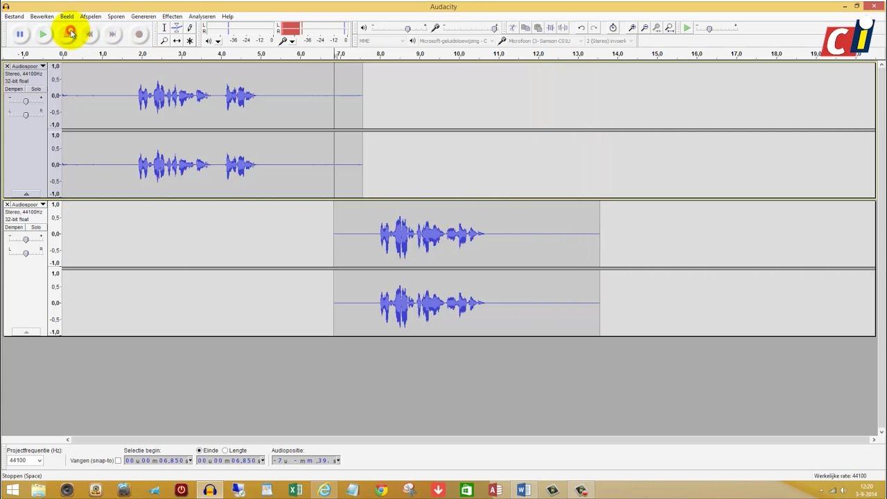 audacity how to make audio more crisp
