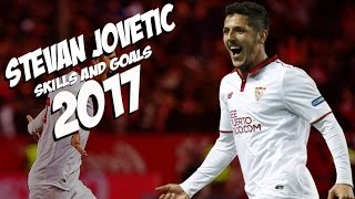 Stevan Jovetic - Skills and Goals - Sevilla - 2016/ 2017
