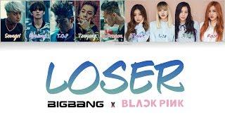 Gambar cover BIGBANG x BLACKPINK - LOSER (Duet Mashup) [Han/Rom/Eng Lyrics]