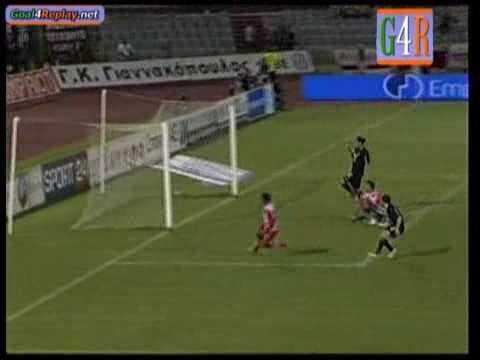 AELarisa-Olympiakos 0-1 Super League (Leonardo de Jesus Geraldo)