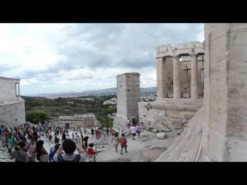 Samsung Gear 360 - European Tour - Day 06 - Temple Of Athena Nike pt.2 - Acropolis-(Athens, Greece)