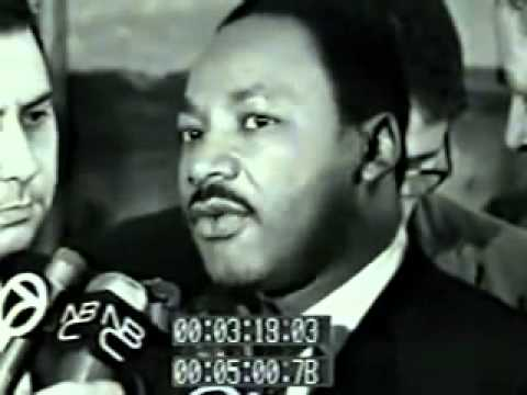 Martin Luther King reacts to the Assassination of Malcolm X