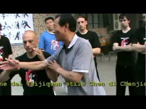 Wang Xian Tui Shou lesson