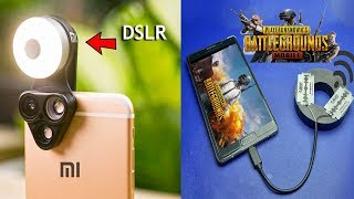 10 SMARTPHONE & PUBG MOBILE GADGETS ▶ Mobile Accessories that you MUST TRY!
