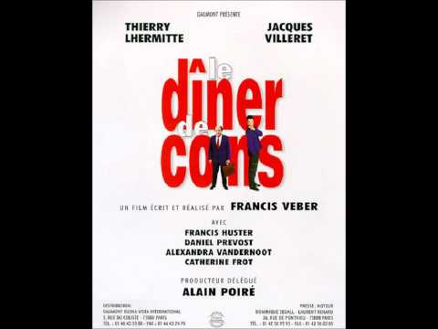Vladimir Cosma le dîner de cons poster