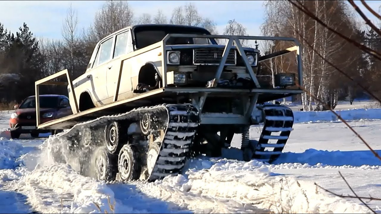 Only In Russia Lada Tank Youtube