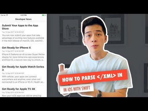 Parse XML in iOS with Swift - Build a RSS News Reader App