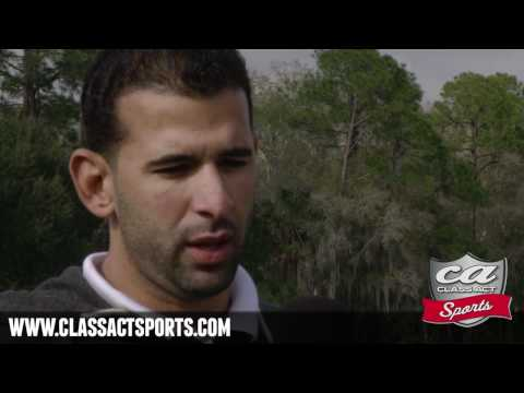 Exclusive Interview w/ Blue Jays Slugger Jose Bautista (Class Act Sports)
