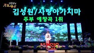 가수 김성원-사랑아 가지마(전철완의 가요세상)주부노래교실 애창곡