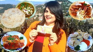 Living on Rs 200 for 24 HOURS Challenge | SHIMLA Food Challenge
