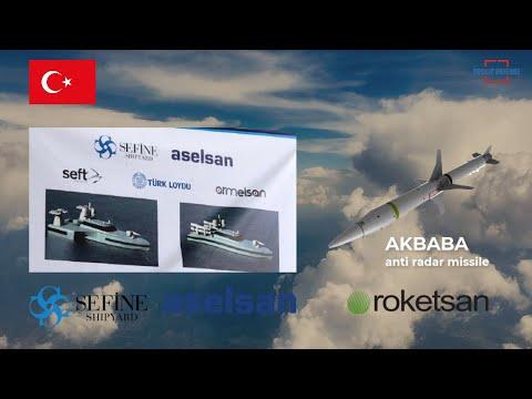 Aselsan & Safine Shipyard Developed 2 New Naval Drones & Roketsan has Developed Anti Radar Missile