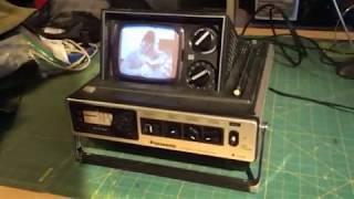 Video Vintage 1978 Panasonic B&W Pop Up TV TR-535 AM FM Radio Bladerunner Movie download MP3, 3GP, MP4, WEBM, AVI, FLV Maret 2018