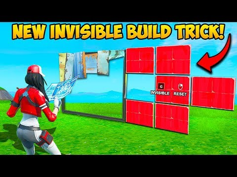 *NEW EDIT* BUILD INVISIBLE WALLS!! - Fortnite Funny Fails and WTF Moments! #761